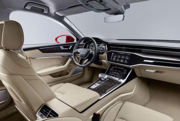 Bilder: Audi A6: Kühl-elegantes Business-Flaggschiff