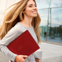 Lifebook in Red