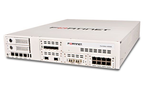 Die Web Application Firewall FortiWeb 4000E von Fortinet.