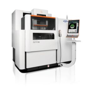 The Agie-Charmilles Cut P wire EDM machine can be used in most critical applications in electronic components, automotive and medtech.