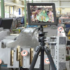Augmented reality meets global and flexible production needs