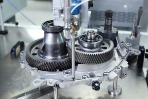Casting and steel: prototyping of the prospective fifth generation of electric engines by BMW.