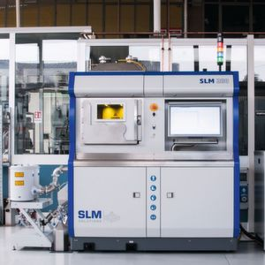 Selective laser melting for aerospace with high-performance materials