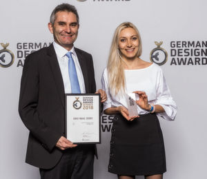 Hybridstecker gewinnt den German Design Award