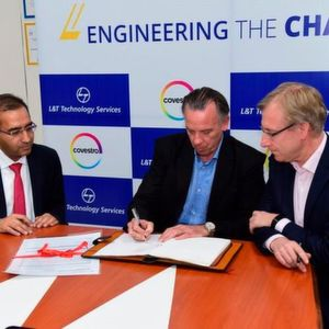 Covestro and L&T Technology Services sign a Master Service Agreement for Digital Transformation and Global Standardization Programs.