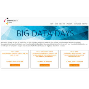 Im April finden die Big Data Days 2018 statt.