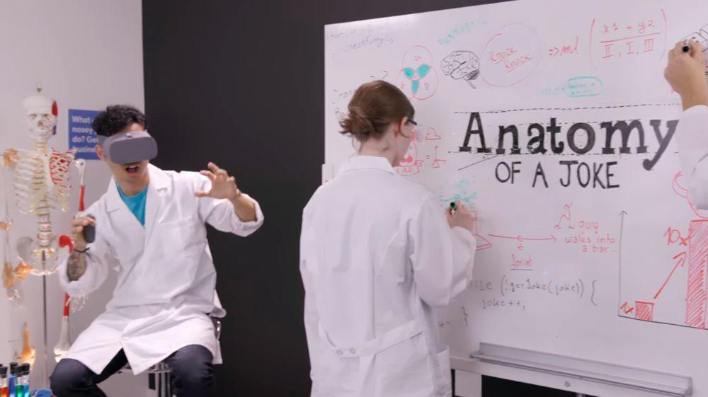 Anatomie eines Witzes: Die Algorithmen von Googles Files Go sollen ...