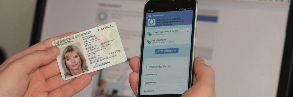 Handy als Personalausweis-Lesegerät