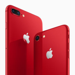 Apples iPhone 8 und 8 Plus werden rot