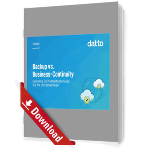 Backup vs.Business-Continuity