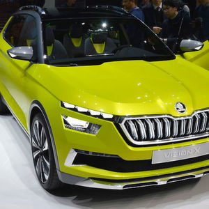 Skoda Vision X: Konsequent weniger Abgas