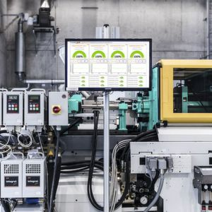 Smart solution for plastics processing: Condition and process monitoring