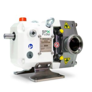 The TLP Series by SPX Flow offers customers a versatile, hygienic rotary lobe pump with low shear and gentle product handling for high and low viscosity products.
