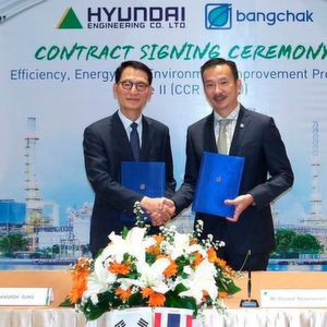 Hyundai Engineering Co . recently won a 273.2 million dollar refinery project from major Thai energy company, Bangchak Corporation Public Company.