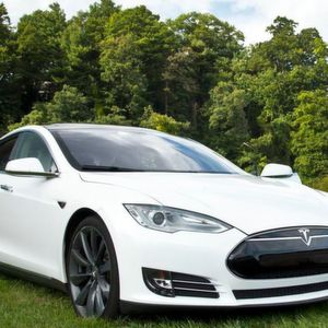 The switch in the automotive industry to complete electric cars like this Tesla model will have a major impact on aluminium foundries as suppliers.