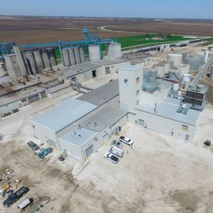 REG Ralston, first built in 2002 as a 12 million gallon (approx. 378,000 tons) per year biodiesel plant has expanded and can produce 30 million gallons (approx. 945,000 tons) per year.