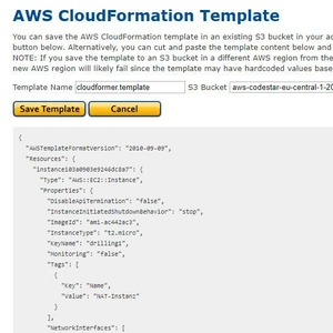 Reverse-Engineering mit AWS CloudFormer