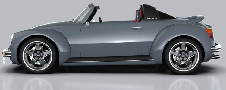Memminger Roadster 2.7 – der Power-Käfer