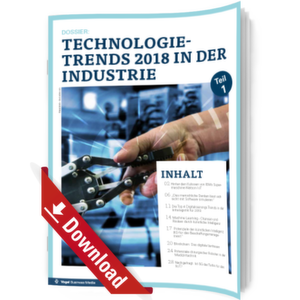 Die Top Technologietrends für 2018 in der Industrie - Teil 1