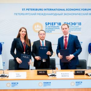 The tripartite license agreement was signed on 25 May at the St. Petersburg International Economic Forum.