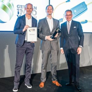 E-Mobility-Ladesystem von Lapp gewinnt German Innovation Award in der Kategorie Transportation