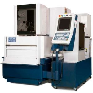 From Taiwanese machine manufacturer Excetek, the V400G is the smallest of the company's VG series of wire-cutting EDM machines.