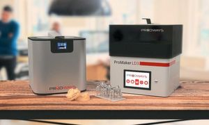 With its compact design, the Promaker LD-3 fits in practically all environments.