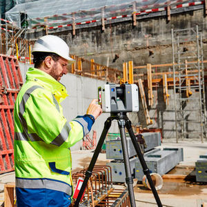 Hexagon has introduced the world's first 3D laser scanner with automatic in-field pre-registration.