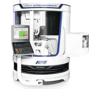 New from the ground up – the two-in-one grinder/eroder Walter Helitronic Power Diamond 400.