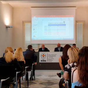 A presentation made by Ucima and Confindustria stating that the sector closed 2017 with further year-on-year growth.
