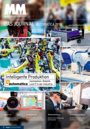 Intelligente Produktion: Automation, Robotik und IT in der Insustrie auf der Automatica 2018.