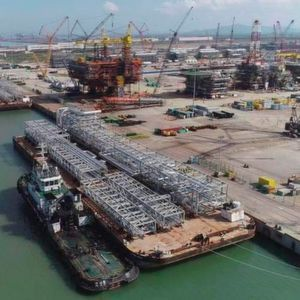 Fluor's Maiden Modules Arrive for One of the Largest Refineries in the World