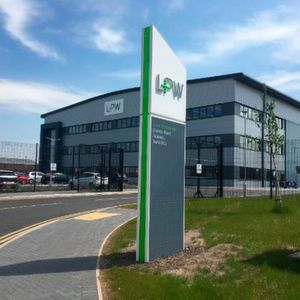 The new £20-million metal powder production facility is a 90,000 sq.ft. (9,700 m²) building spread on a seven-acre site near Liverpool.