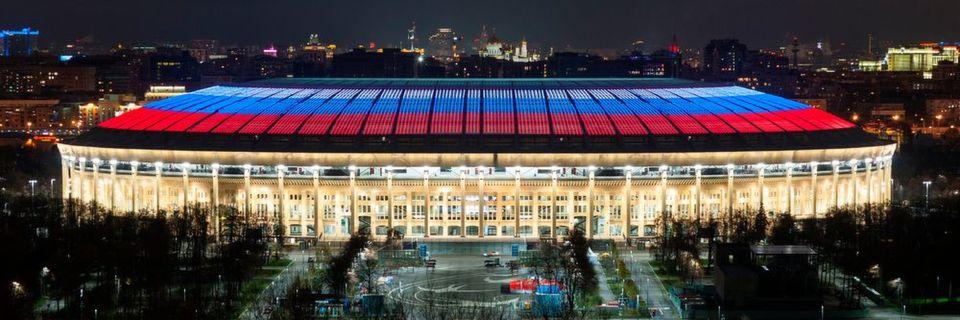 LED-Beleuchtung in WM-Stadien sorgt für das richtige Licht