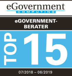 Die Top 15 eGovernment-Berater 07/2018 - 06/2019