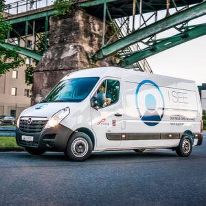 Offenbacher elektrifizieren Opel Transporter