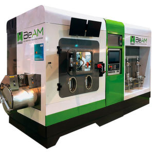 A directed energy deposition additive manufacturing machine from Beam.