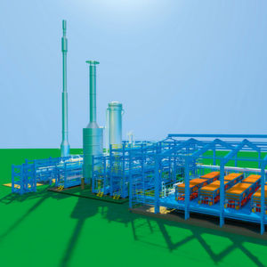 Integrated hydrogen and ammonia plant