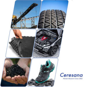 Ceresana published a study on the world market for butadiene rubber.