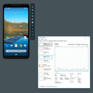 Android Emulator mit AMD- und Hyper-V-Unterstützung