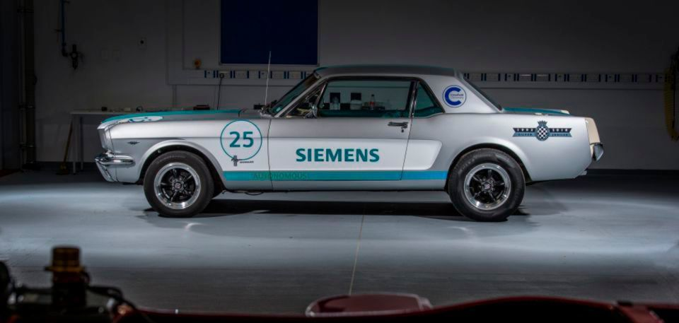 ford mustang 1965 – im autonomen muscle car der zukunft entgegen