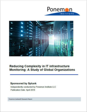 "Die gesamte Studie ""Reducing Complexity in IT Infrastructure Monitoring: A Study of Global Organizations"" gibt es bei Splunk gegen Registrierung zum Download."