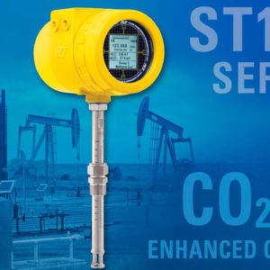 The ST100 series flow meter can be calibrated to measure CO2 gas and dozens of other specialty gases.
