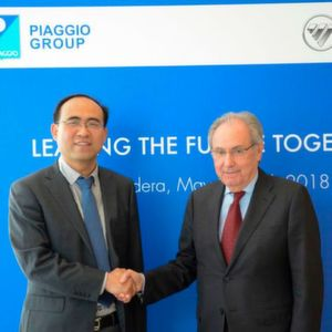 Piaggio Group: China-Deal in trockenen Tüchern