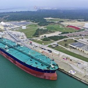 The Oxy Ingleside Energy Center (OIEC) Terminal is located at the Port of Corpus Christi in Ingleside, Texas.