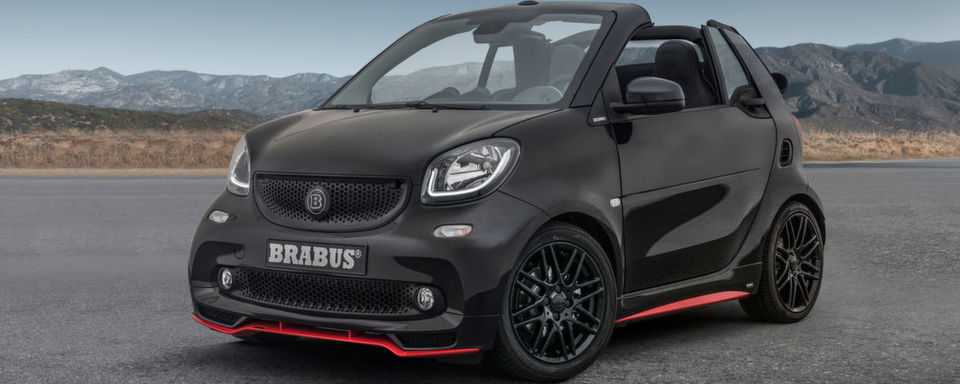 Smart Brabus Fortwo Cabriolet in der Edition 125R.