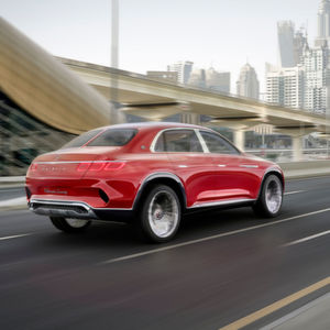 Vision Mercedes-Maybach Ultimate Luxury: Die SUV-Limousine