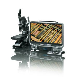 The VHX-6000 microscope is distinguished by its speed and repeatability.