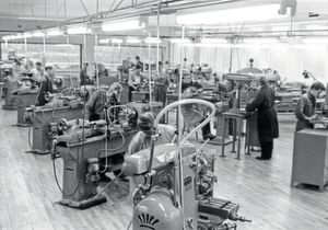 A look at Lego's production in 1961.