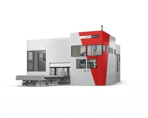 The largest 3D printing system for sand moulds, the VX4000 from Voxeljet.